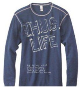 Men's/boys thermal - $27 plus shipping if needed. This item comes in black with gray and navy with grey.